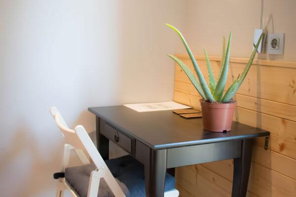 Mesa de escritorio Pensión Kaixo Hostel Donosti San Sebastian