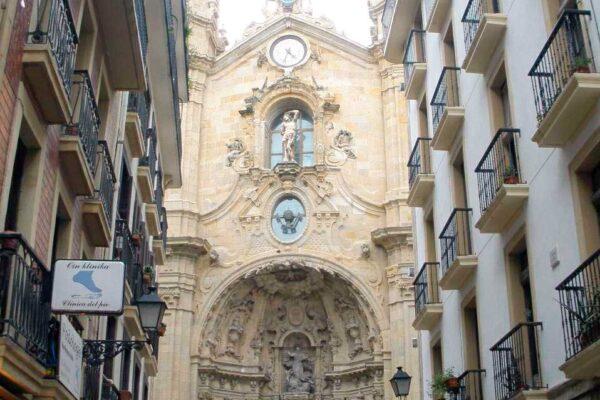 Santa Maria Pensión Kaixo Hostel Donosti San Sebastian